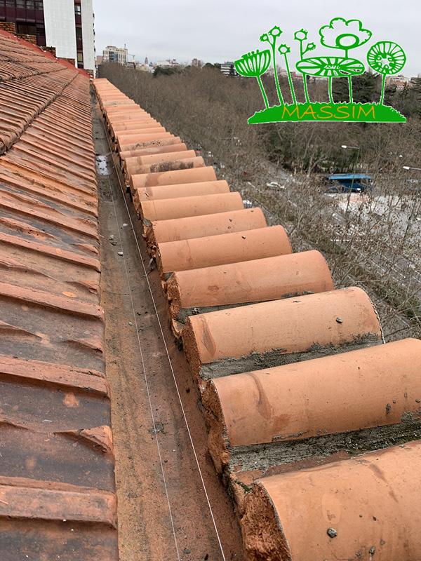 sistema de cables en Valladolid MASSIM