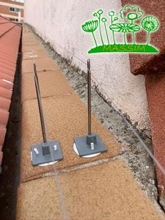 sistemas control aves Valladolid cables púas alambres postes
