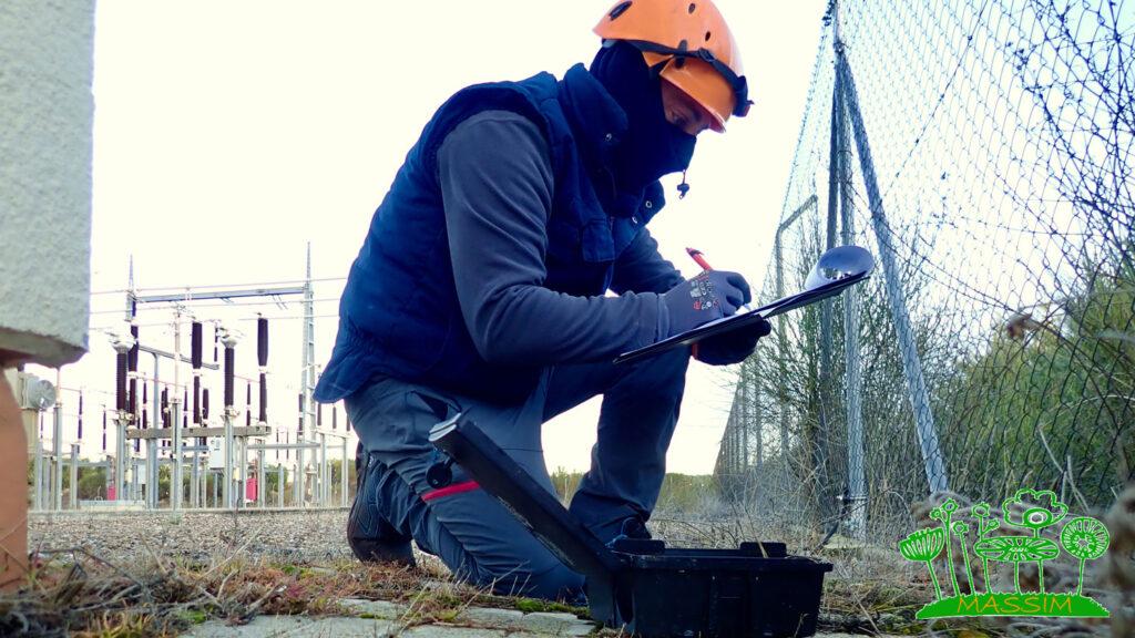 mantenimiento control plagas parques eólicos